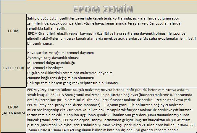 epdm-zemin