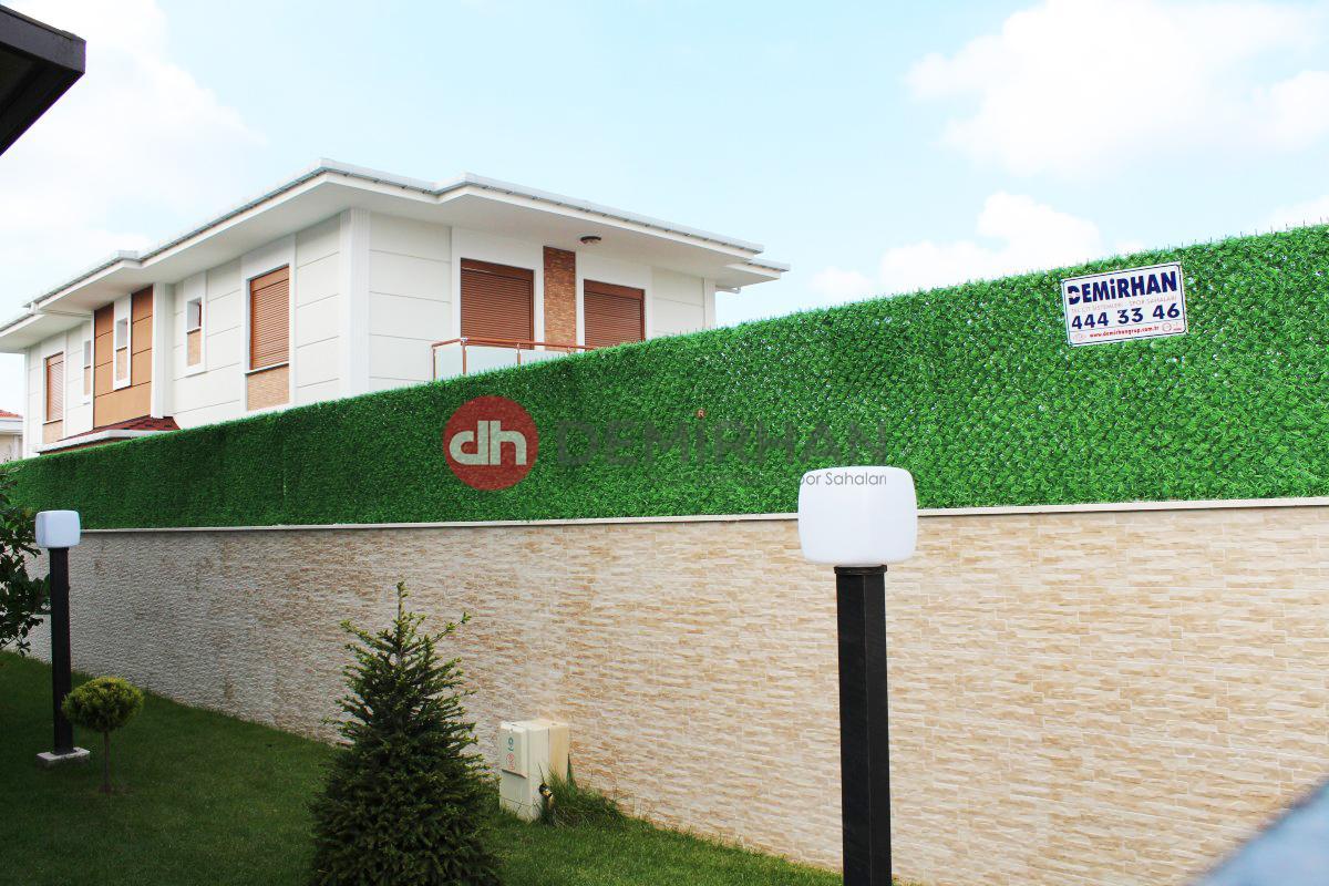 çim çit villa, dekoratif çim çit uygulaması, çim çit fiyatları